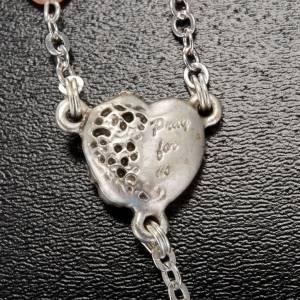 Ghirelli rosary beads in Bohemia glass 8x8 s4