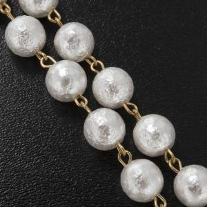 Ghirelli rosary beads in Bohemia opaque crystal 8 cm s6