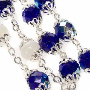 Ghirelli rosary blue and mother-of-pearl beads s4