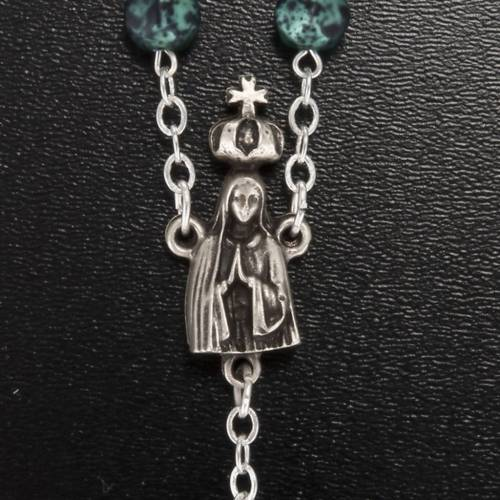 Ghirelli rosary, Our Lady of Fatima, metallic 7mm s3