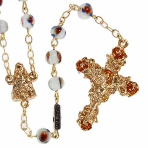 Ghirelli rosary, Our Lady of Lourdes 6mm s1