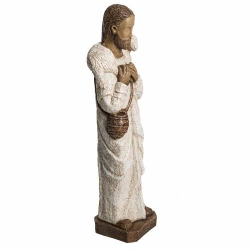 Good Shepherd in stone, Bethléem 56cm s2
