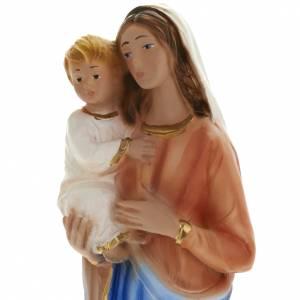 Heiligenfiguren aus Gips: Gottesmutter 25 cm Gipsheiligenfigur