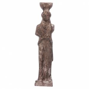 Home accessories miniatures: Greek goddess in resin 15 cm