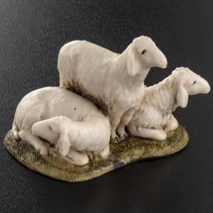 Krippentiere: Gruppe 3 Schafe 11cm Landi
