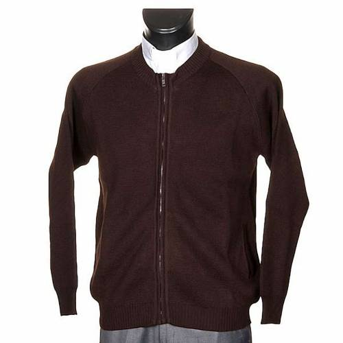 Habit jacket with zip and pockets s1
