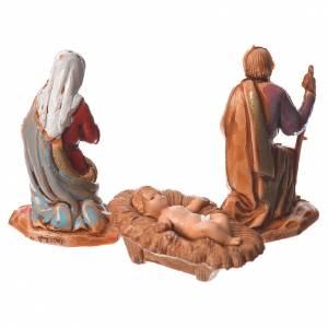 Krippe Moranduzzo: Heilige Familie 3St. 3,5cm Moranduzzo