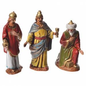 Krippe Moranduzzo: Heilige Könige arabisches Stil 6,5cm Moranduzzo