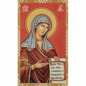 Holy cards: Holy card, Virgin Mary intercession