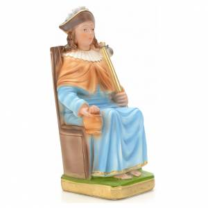 Plaster Statues: Holy Child of Atocha statue in plaster, 25 cm