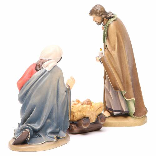 Holy Family, Orient model in painted Valgardena wood s3