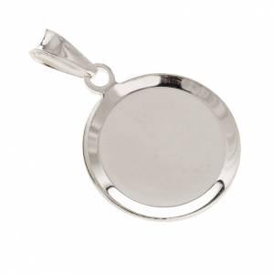 Holy Spirit medal in silver 925, enamel decoration s3