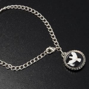 Holy Spirit medal with bracelet s2