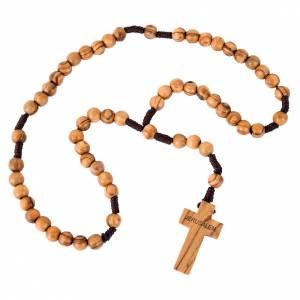 Holyland olive wood rosary s1