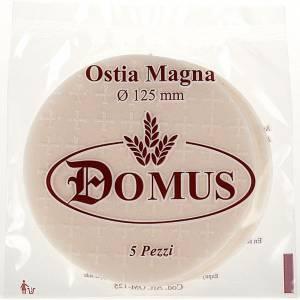 Partículas, hostias para misa: Hostia / Forma pan celebración espesor 1.4 mm, 5 pz.