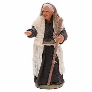 Neapolitan Nativity Scene: Hunch-backed woman 10cm Neapolitan Nativity figurine