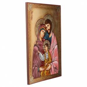 Icona della Sacra Famiglia 50x70 cm s2