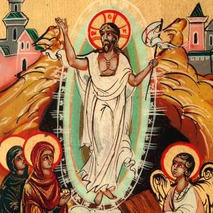 Icona russa Resurrezione s3