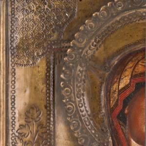 Icône ancienne Vierge de Tichvin s2