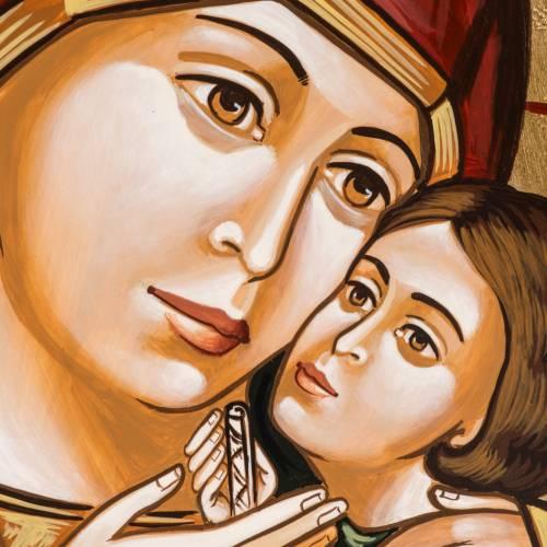 Icône mère de Dieu de Kasperov s2