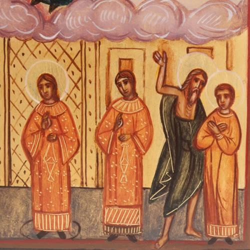 Icone Russe peinte Veil de Marie Pokrov s3