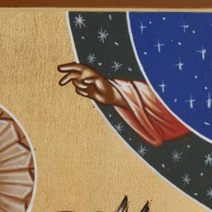 Icône Russe Saint Georges 26x31 peinte s5