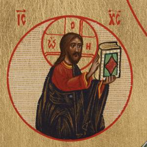 Icône Russe Saint-Nicolas peinte s3