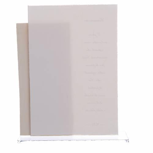 Idea Regalo Comunione Bimba quadretto stampa h. 17 cm s2