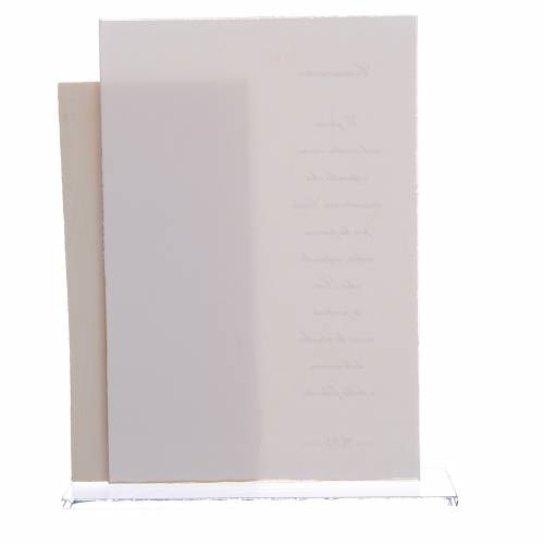Idée cadeau Communion fille cadre impression h 17 cm s2