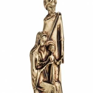 Imán de la Sagrada Familia dos colores 6cm s2