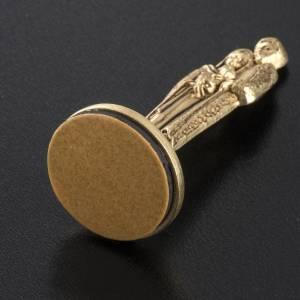 Imán metalizados de la Sagrada Familia 7cm s4