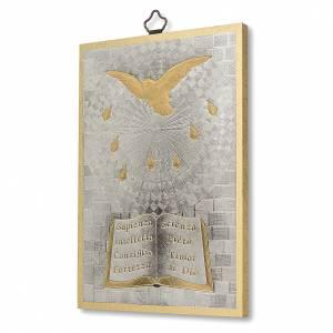 Tableaux, gravures, manuscrit enluminé: Impression sur bois Saint Esprit