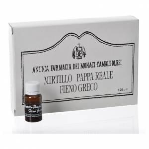 Lekarstwa naturalne: Integrator flakoniki jagody mleczko pszczele kozieradka lekarska Camaldoli