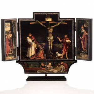 Isenhaim altarpiece triptych 21x30 with base s1