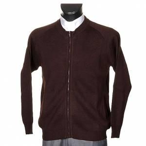 Pullover: Jacke fuer Kutte mit Reissverschluss und Taschen