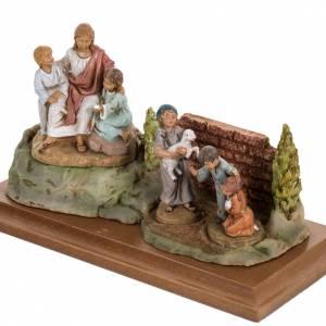 Jésus et les enfants 12 cm Fontanini s4