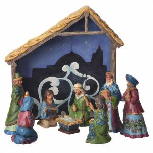 Jim Shore - Pint Nativity Set 13cm figurines, 9 pcs s1