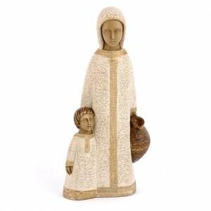 Statuen aus Stein: Jungfrau von Nazareth, klein, weiß