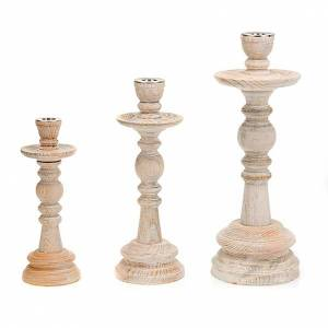 Kommunionkerzenhalter: Kerzenhalter Holz