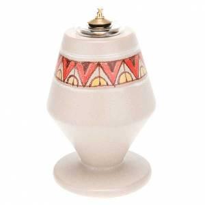 Lampen und Lanternen: Konische Keramiklampe