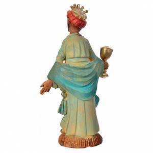 Figury do szopki: Król Mędrzec ciemna karnacja 8 cm
