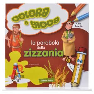 Libri per bambini e ragazzi: La parabola della zizzania da colorare