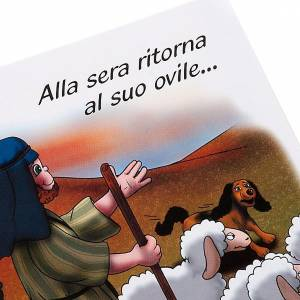 Livres pour enfants: La parabole du mouton perdu ITA