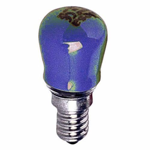 Lampada 15W viola E14 per illuminazione presepi s1
