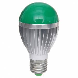 Luci presepe e lanterne: Lampada a led 5W dimmerabile verde presepe