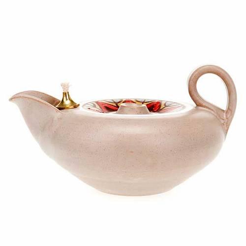Lampada votiva ceramica s7