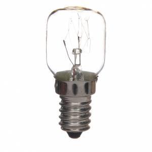 Luci presepe e lanterne: Lampadina bianca presepe 15W E14