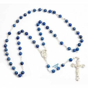 Lapis lazuli rosary s1
