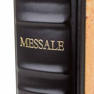 Leather and fabric Roman Missal bookcase s6