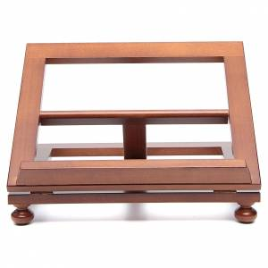 Book stands: Lectern in walnut wood 35x28cm